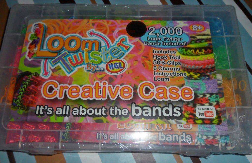 Hobbycraft Loom Twister Loom Band Friendship Bracelet Kit