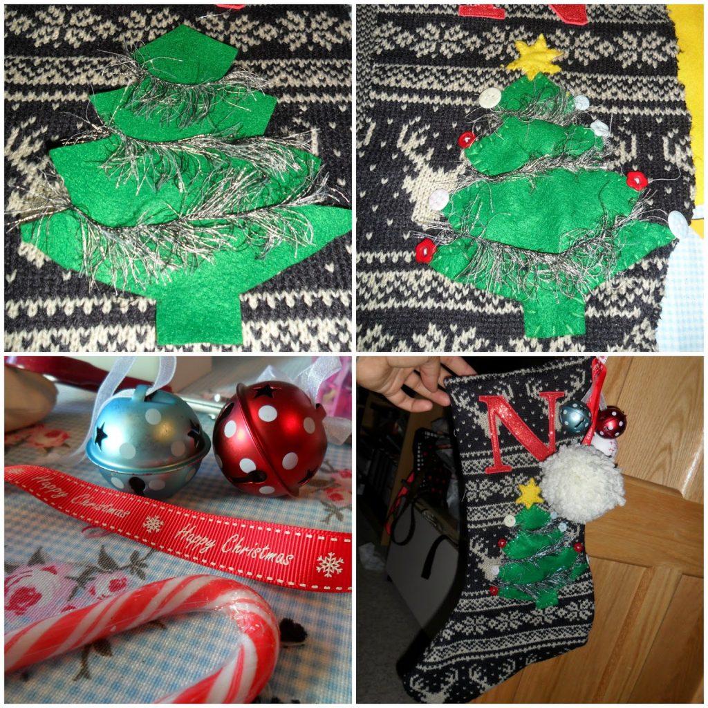 homemade stocking