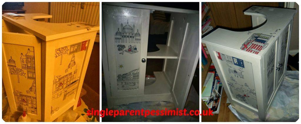 furniture upcycle uk rustoleum chalk paint