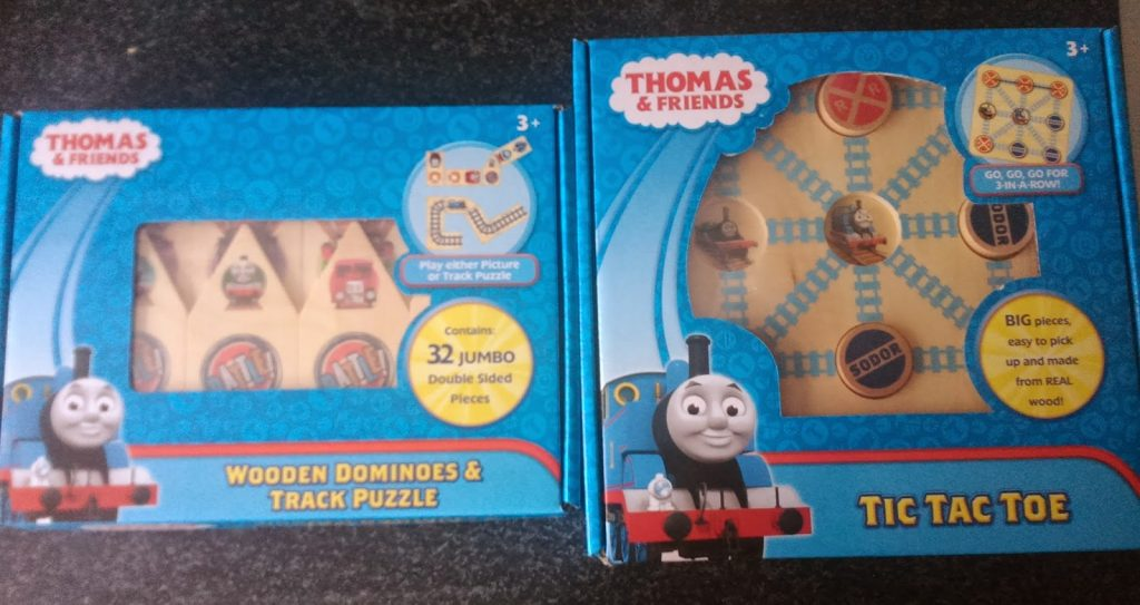 Flair Thomas and Friends Tic Tac Toe and Dominoes