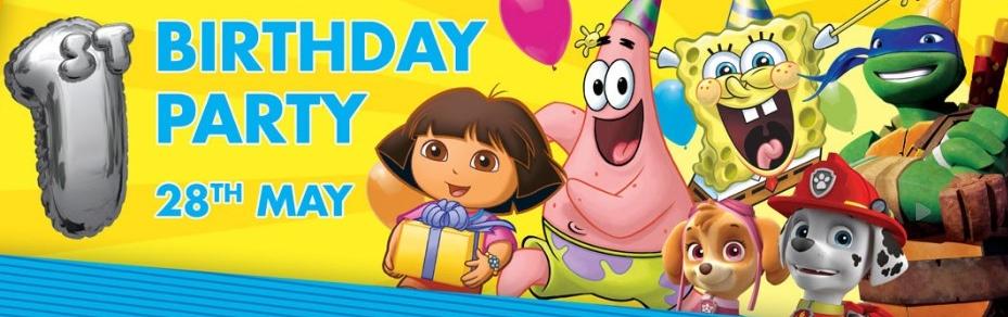 Nickelodeon Store 1st Birthday Event