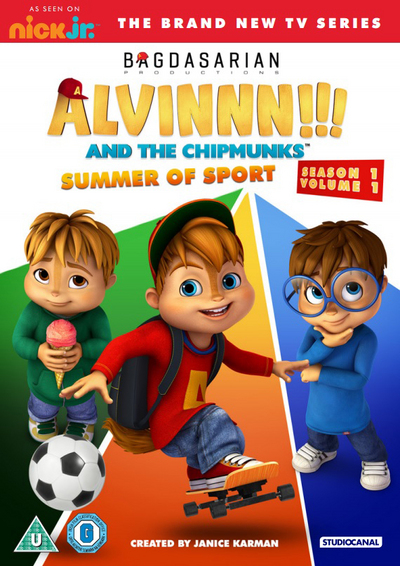 Win a copy of Alvinnn! And The Chipmunks Summer of Sport DVD