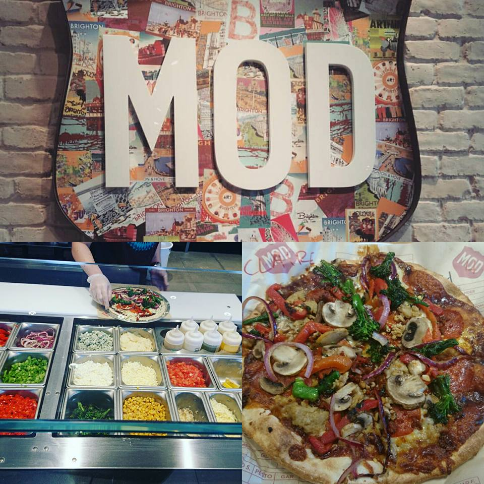 Half Term Adventures: Visiting MOD Pizza