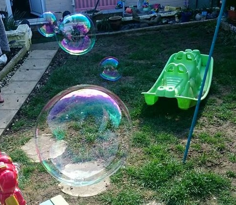 we love bubbles