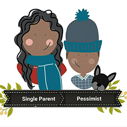 Single Parent Pessimist Logo