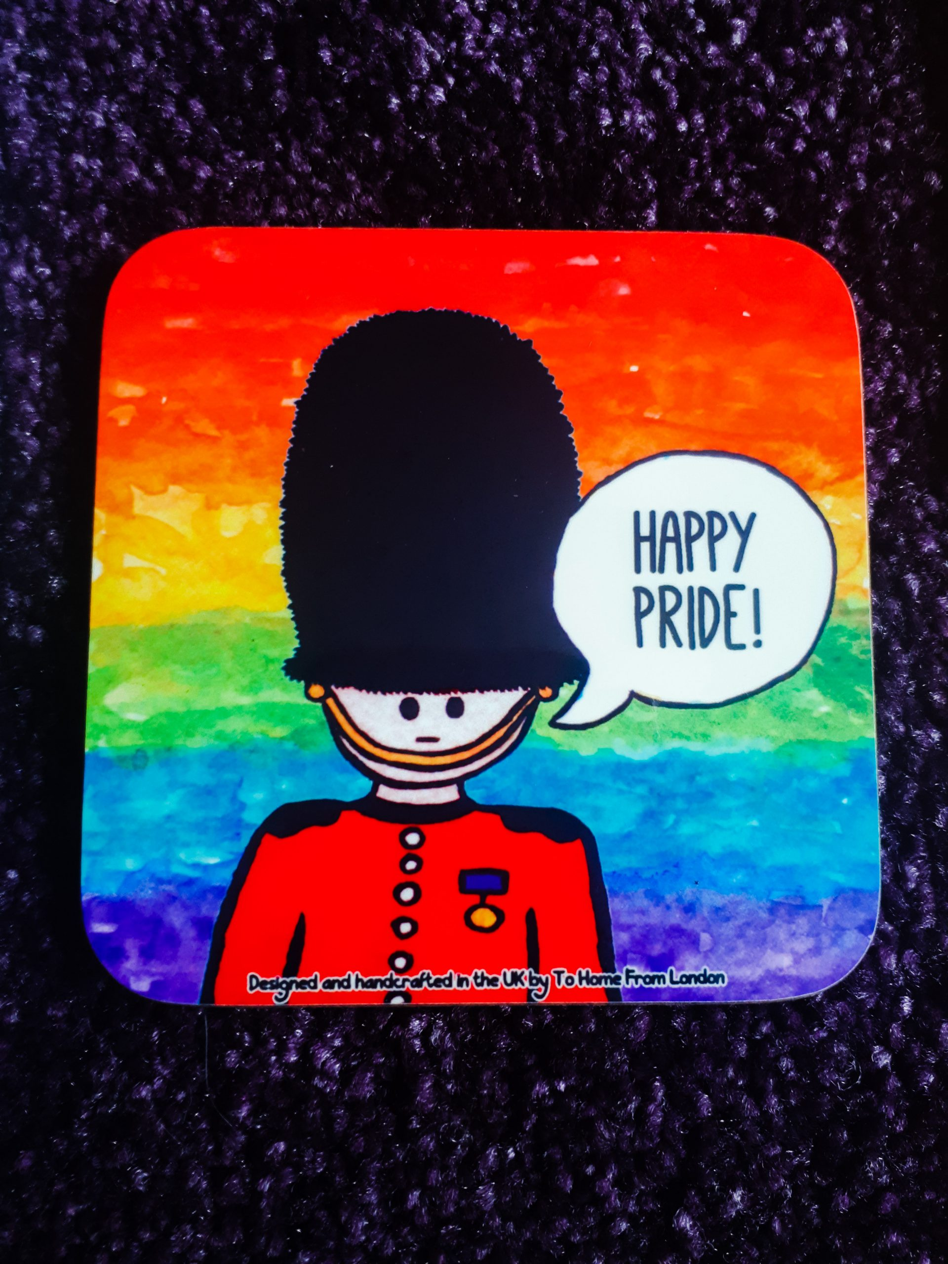 Pride Coaster from To Home From London