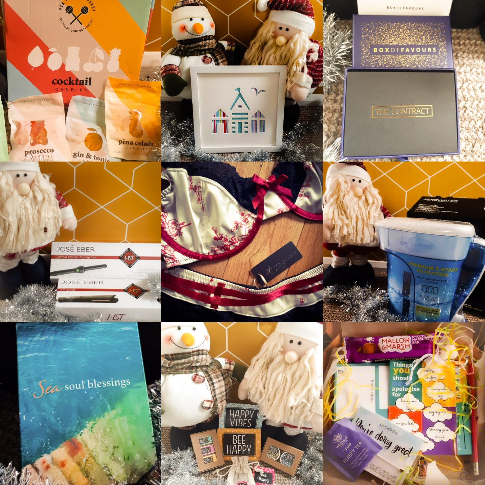 Adult Xmas Gift Guide Collage
